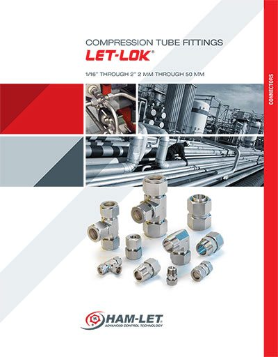 Let-Lok Double Ferrule Tube Fittings Brochure